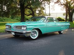 1959 Pontiac Bonneville Two Door Hardtop
