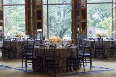 Elegant setting in Aujourd'hui event space.   Photo Credit: Winslow Martin