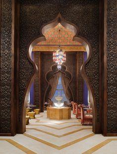 Jumeirah Zabeel Saray Hotel - Dubai Restaurants - Al Nafoorah - Arabic #dubai #uae  http://dubaiuae.co/DubaiTravelHotels