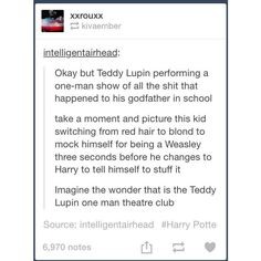 Teddy Lupin ❤ liked on Polyvore featuring harry potter