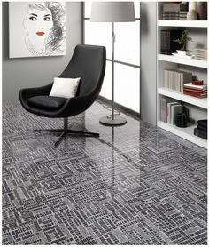 Awesome tiled floor by #Tile of Spain.