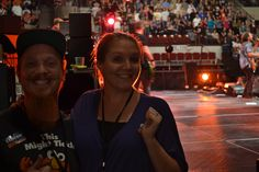 """Steve and Melissa from Billings -- Winners of the """"Best Seats in the World"""""""