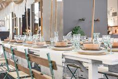 Vtwonen huis tafel dekken marokkaans glas vtwonen en designbeurs Amsterdam ©BintiHome
