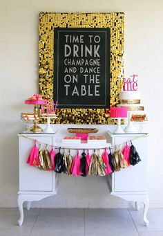 Hosting a bachelorette party for the bride-to-be is now more fun than ever and doesn't have to be debauchery-filled affairs! These are the best bachelorette party themes, crafts, activities, games and sweet treats to help you plan and host a memorable ba… Bachlorette Party, Bachelorette Parties, Burlesque Bachelorette Party, Bachelorette Party Quotes, Bachelorette Weekend, Adult Party Themes, Adult Party Decorations, 21st Party Themes, Pink Decorations