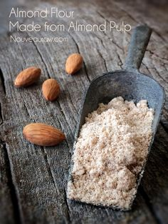 Almond Flour (made from Almond Pulp)