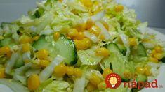 Fantastické šaláty, ktoré pomôžu každému, kto chce schudnúť. Z tejto ponuky si vyberie naozaj každý. Sú výborné, sýte a rýchlo pripravené! Cottage Cheese, Pickles, Potato Salad, Mozzarella, Salads, Recipies, Food And Drink, Rice, Ethnic Recipes