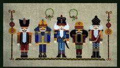 Nutty Parade - Cross Stitch Pattern