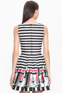 Женского платье из хлопка PAOLA MORENA фото