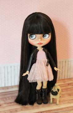 Pretty Dolls, Beautiful Dolls, Ooak Dolls, Blythe Dolls, Little Girl Toys, Wedding Planning Timeline, Cute Baby Dolls, Doll Makeup, Gothic Dolls