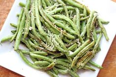 oven roasted green beans 3
