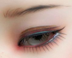 IMDA Dreaming Modigli (eye), painted by Robbin Atwell
