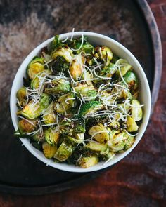 Some the Wiser: Roasted Lemon Pepper Brussels Sprouts