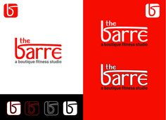 """Hip, unique logo design needed for """"the barre""""! by maxthing"""