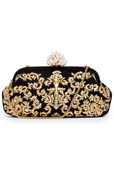 Black and gold vintage clutch- pair with gold accessories and the Illusion dress and your good to go! #maggylondon #theillusiondress #summerstyle
