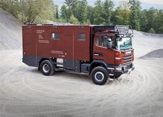 Expedition mobil Reise mobil Scania Allrad