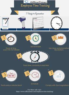 #EmployeeTimeTracking: 7 Things to Remember