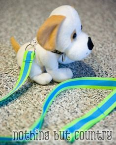 Puppy Party - DIY Puppy Leashes