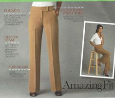 Womens Amazing Fit Pants Slim Average or Curvy by CloesCloset