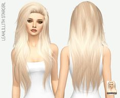 Leahlilith Stargirl long hair for The Sims 4 Cabelos longos de Leahlilith Stargirl para The Sims 4 Sims 4 Mods, Sims 4 Game Mods, Sims 4 Black Hair, The Sims 4 Cabelos, Pelo Sims, Sims 4 Gameplay, Sims 4 Toddler, Sims Baby, Sims4 Clothes