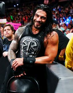 Roman Reigns is the only reason why I watch wwe... Super gorgeous man