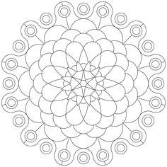 Neues Mandala-Ausmalbild erstellt und hochgeladen. Viel Spaß damit.