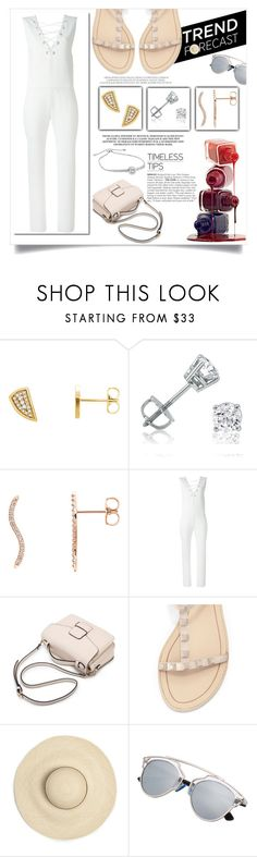 """""""Sleeveless jumpsuits perfect for summer"""" by mlgjewelry on Polyvore featuring Wish by Amanda Rose, Amanda Rose Collection, IRO and Rebecca Minkoff"""