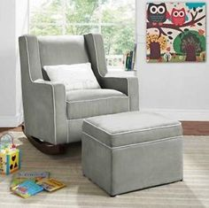 Exceptional Charleston Upholstered Rocker, Slub Chenille Stone | *Furniture U003e Nursery  Chairs U0026 Ottomans* | Pinterest | Rockers, Plush And Products