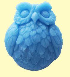 Soap Mold Mould Silicone Mold Flexible Mold Cake Mold Lovely Owl. $8.99, via Etsy.