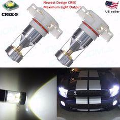 JDM ASTAR Newest CREE 5202 H16 White Fog Driving Daytime Running LED Light Bulbs #JDMASTARaftermarketCREE5202H16TypeOne
