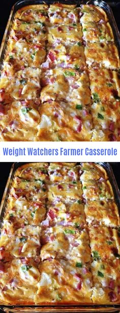 Weight Wachers Farmer Casserole