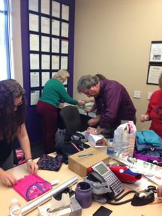 Every year Specialized Office Systems, Inc. donates presents to a family in need anonymously during the holiday season.