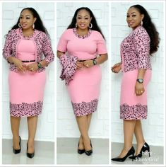 Plus size summer flower print two piece sets official lady style dresses 6030 Foreverfad Plus size summer flower print two piece sets official lady style dresses 6030 Size:XL,XXL,XXXL,XXXXL,XXXXXL Color:Pink Office Dresses For Women, Casual Work Dresses, Elegant Dresses, Latest African Fashion Dresses, African Print Fashion, Women's Fashion Dresses, Two Piece Dress, The Dress, Dress Set