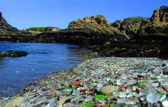 Glass Beach CA