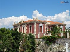 Neoclassical, Greece, Memories, Mansions, House Styles, Home Decor, Greece Country, Memoirs, Neoclassical Architecture