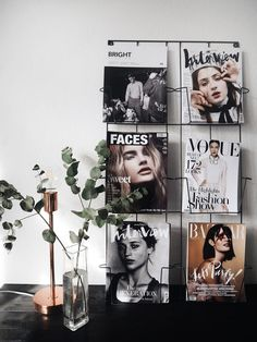Make your magazine collection a part of your home decor with these six creative display ideas. Which of these spaces is your favorite?               View the Original Post / Follow Stylizimo on...