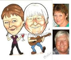 caricature client example 3