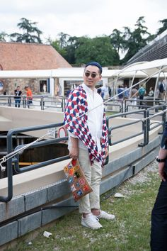 Street style from Pitti Uomo in Florence