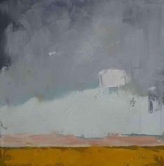 West Abstract Landscape Painting  - West Abstract Landscape Fine Art Print