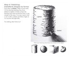 Teaching Tip Tuesday – 5 Shading Techniques - Silent Cacophony Pencil Shading Techniques, Sketching Techniques, Illustration Techniques, Art Techniques, 3d Art Drawing, Basic Drawing, Drawing Lessons, Drawing Studies, Drawing Faces