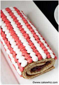 Mocha cake, Cake rolls and Mocha on Pinterest