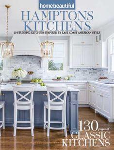 Die Hamptons, Hamptons Style Homes, Hamptons Decor, Kitchen Cabinet Design, Kitchen Redo, Kitchen Remodel, Kitchen Paint, White Kitchen Decor, Home Decor Kitchen
