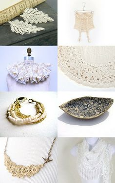 Light and Lacy by Laura Barker on Etsy--Pinned with TreasuryPin.com