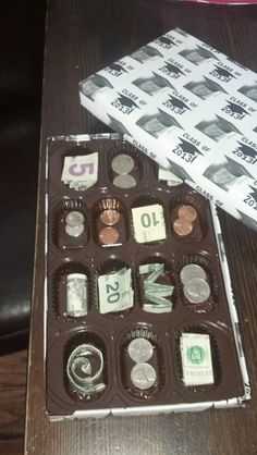 Life is Like a Box of Chocolates Graduation Gift. What a good idea :) Not only for graduation