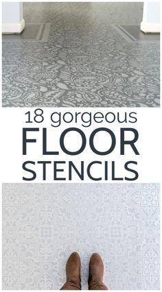 Best Flooring, Brick Flooring, Diy Flooring, Basement Flooring, Hardwood Floors, Painting Bathroom Tiles, Painting Tile Floors, Diy Home Decor On A Budget, Decorating On A Budget