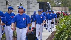 Toronto Blue Jays closer Sergio Santos happy he beat it out of the infield
