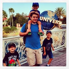 Universal Studios with Young Kids