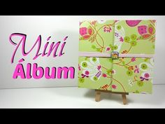 TUTORIAL: Mini álbum estructura sencilla | Scrapbook | Mundo@Party - YouTube