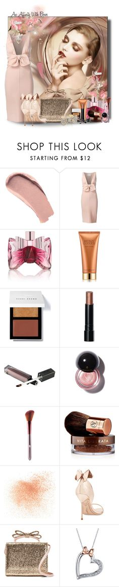 """An Affinity With Bows!"" by jewelsinthecrown ❤ liked on Polyvore featuring Burberry, Dsquared2, Viktor & Rolf, Estée Lauder, Bobbi Brown Cosmetics, Vita Liberata, Eve Lom, Sophia Webster, RED Valentino and Disney"