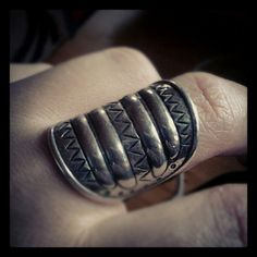Water Symbol ring from Perniö (in silver)