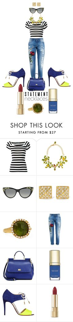 """Job Day 618"" by minigiulia ❤ liked on Polyvore featuring Dolce&Gabbana, Gucci, Anita Ko, Marco Bicego and Christian Louboutin"